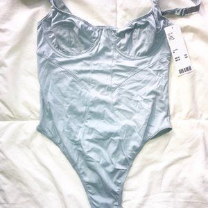Urban Outfitters Baby Blue Body Suit
